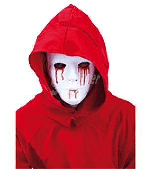 BLANCA Mascara hombre con sangre