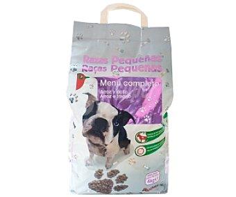Auchan Comida Seca para Perros de Raza Pequeña Bolsa de 4 Kilogramos
