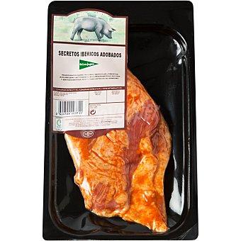 El Corte Inglés Secretos adobados de cerdo ibérico peso aproximado Bandeja 300 g