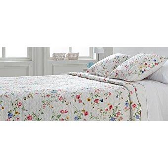 CASACTUAL LX03 Colcha Bouti con flores rosas para cama 90 cm