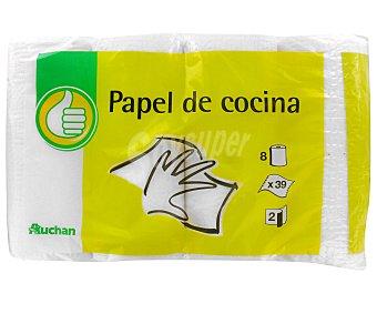 Productos Económicos Alcampo Rollo de cocina Paquete de 8 unidades