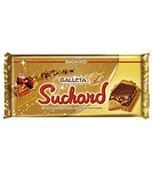 Suchard Turrón crujiente de chocolate con galleta 285 g