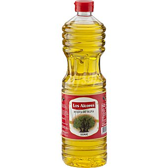 LOS ALCORES Aceite de oliva suave 0,4º Botella 1 l