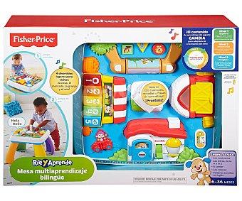 Fisher-Price Mesa de aprendizaje con multitud de actividades y 3 niveles de juego price
