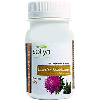 Sotya Cardo mariano depurativo del hígado envase 100 comprimidos