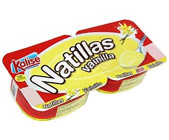 Kalise Natilla de Vainilla Pack de 2x135 g