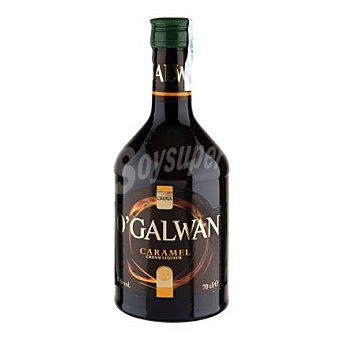 Crema de whisky o'galwan sabor caramelo 70 cl