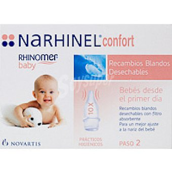 NARHINEL Recambios Confort Pack 10 unid