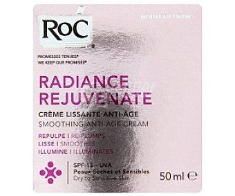 ROC Radiance Crema antiedad piel seca 50 Mililitros