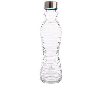 ARC Botella de vidrio transparente con tapón de rosca, ARC 0,5 litros