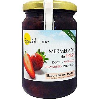 Special Line Mermelada extra de fresa con fructosa sin gluten sin azúcar añadido Envase 345 g