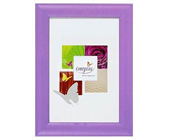 IMAGINE Portafotos de color violeta modelo Fiesta, para fotografias de tamaño 20x30 1 Unidad