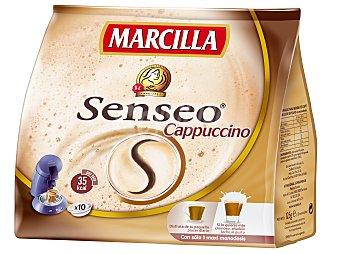Marcilla Café Capuccino Monodosis Senseo PAQUETE 125GR