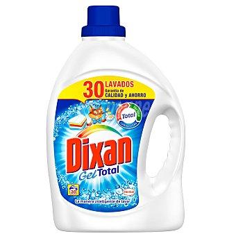 Dixan Detergente líquido gel con quitamanchas y anti-cal Botella 29 dosis