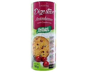 Santiveri Galletas digestive con arándanos Paquete 190 g