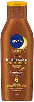 Nivea Leche solar zanahoria fp 6 200 ML