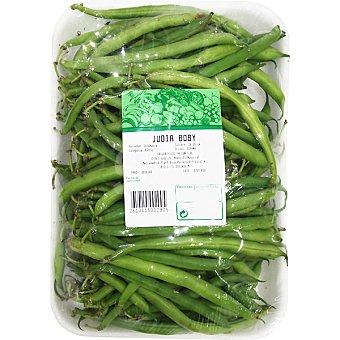 Judía verde boby Bandeja 700 g peso aprox.