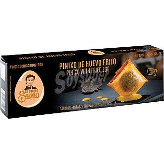 LA COCINA DE SENÉN Pintxo de huevo frito con patatas fritas y trufa sin gluten estuche 140 g