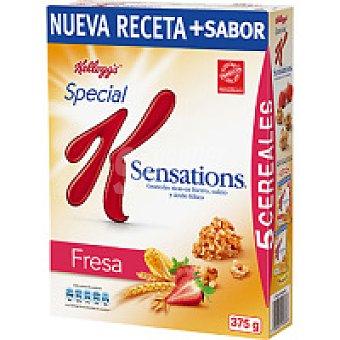 Kellogg's Special K Sensations Fresa: Granola de cereales con trocitos de fruta sabor a fresa 375 g