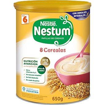 Nestum Nestlé Papilla 8 cereales Bote 650 g