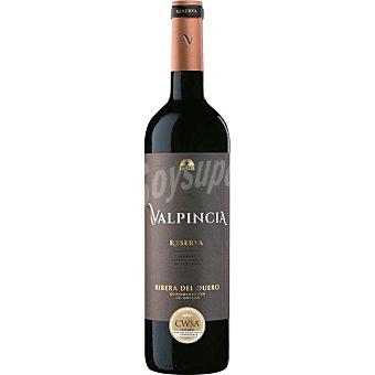 Valpincia Vino tinto reserva D.O. Ribera del Duero Botella 75 cl