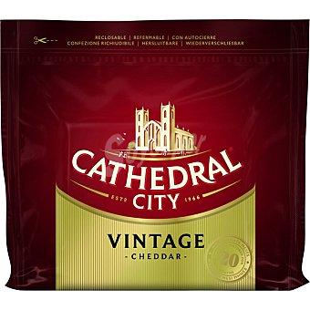 Cathedral city Queso cheddar vintage envejecido 20 meses Cuña 200 g