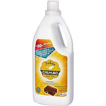 Chimbo Detergente máquina líquido hipoalergénico al jabón tradicional Botella 40 dosis