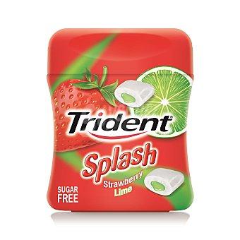 Trident Chicles rellenos de fresa y lima sin azucar 1 ud