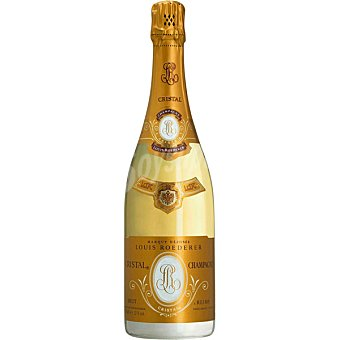 Louis Roederer Champagne brut cristal Estuche lujo botella 75 cl botella 75 cl