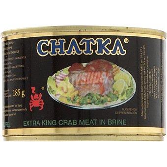 Chatka Cangrejo ruso 100% patas Lata 185 g
