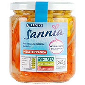 Eroski Sannia Ensalada mediterránea Tarro 245 g