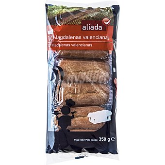 ALIADA Magdalenas valencianas  12 unidades bolsa 350 gramos