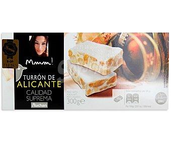 Mmm Auchan Turrón duro de Alicante 300 gr