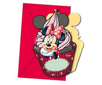 Disney Invitaciones Minnie con sobre 1 unidad