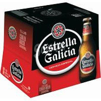 Estrella Galicia Cerveza Pack 10+2x25 cl