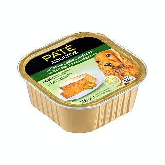Delikuit Comida de perro paté de cordero, pollo y verduras adulto razas medianas y grandes Tarrina 300 g
