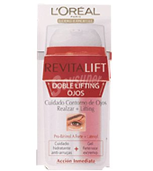L'Oréal Crema facial revitalizante doble lifting ojos dermoexpertise 15 ml