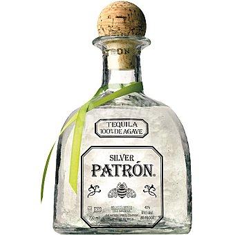 Patrón Silver tequila mejicano joven y suave Botella 70 cl