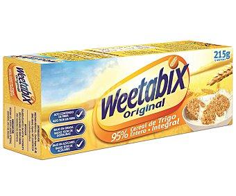 Weetabix Bloques de cereales de desayuno de trigo entero Paquete 215 g