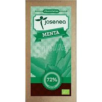 JOSENEA Chocolate nego con menta Tableta 100 g
