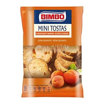 Bimbo Minitostas de albaricoque y naranja 100 g