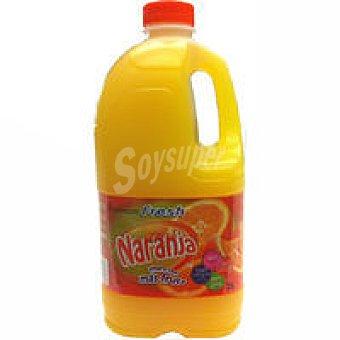Refresco de naranja premium Garrafa 2 litros