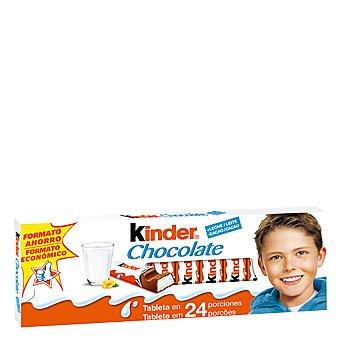 Kinder Chocolate con leche 14 porciones Tableta 300 g