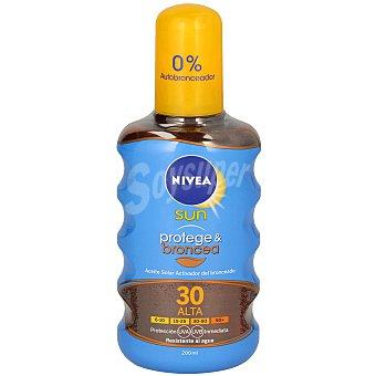 Nivea Aceite solar bronceador en spray FP 30 200 ml