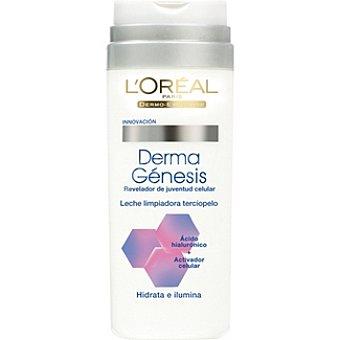 Dermo Expertise L'Oréal Paris Leche limpiadora Derma Génesis hidrata e ilumina Frasco 200 ml