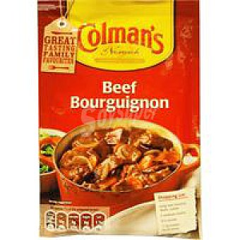 Colmans Salsa de ternera Bourguignon Sobre 40 g