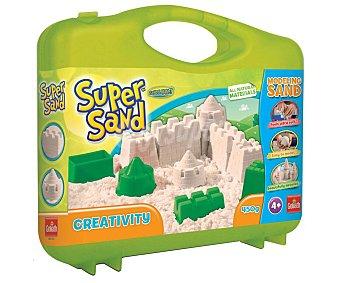 Goliath Maletín creativo con moldes y arena moldeable Super Sand goliath