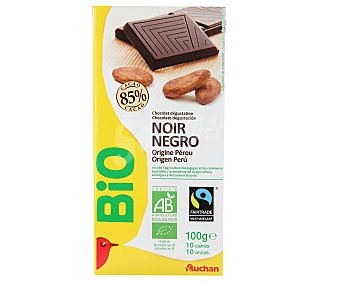Auchan Chocolate Negro 85% Bio Origen Perú 100g