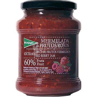 EL CORTE INGLES Mermelada de frutos rojos extra 60% fruta Tarro de 410 g