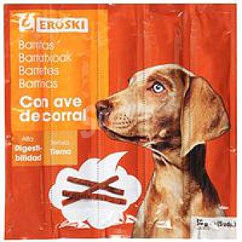 Eroski Barritas tiernas de ave para perro Paquete 55 g